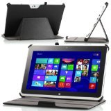 MoKo Slim-fit Folio Stand Cover Case for ACER Iconia W510 MultiTouch 10.1-Inch Windows 8 Tablet Black