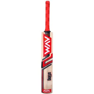 Avm Sting Kashmir Willow Cricket Bat -Red (SH)