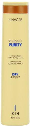 250ml Shampoo Purificante Purezza Kin Kinactif Forfora capelli secchi
