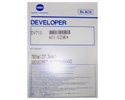 Konica Minolta BR Bizhub 600 1-DV710 Black Developer, 250k yield 02XK