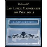 Law Office Management for Paralegals (09) by McGraw-Hill, Higher Education - Technology, Curriculum [Paperback (2008)]