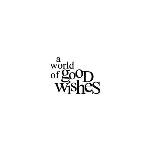 Penny Black Rubber Stamp 1.75X2 Good Wishes