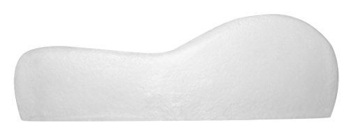 contour memory foam pillow by dc labs best neck pain relief and orthopedic pillow