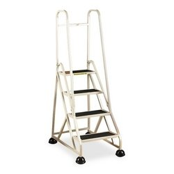 Cramer Industries, Inc. 4-Step Ladder, w/ 2 Handrails, 24-5/8
