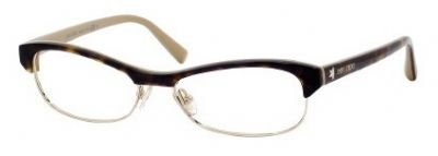 Jimmy Choo JIMMY CHOO 44 Eyeglasses (0SYE) Havana Nude - 52 mm [Apparel]
