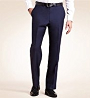 England Team Euro 2012 Big & Tall Pure Wool Straight Leg Trousers