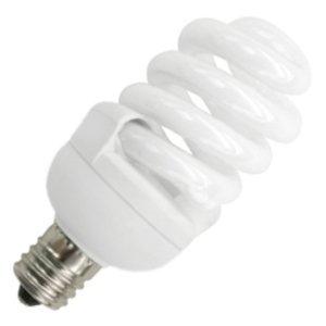(12-Pack) TCP 4T213I 13-watt 2700-Kelvin CFL T2 Pro E17 Base Springlamp