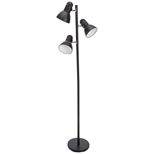 Boston Harbor TL-TREE-134-BK-3L 3 Light Tree Lamp, Black