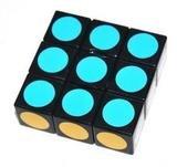 LanLan Super Floppy Cube, Black, 1 x 3 x 3 - 1
