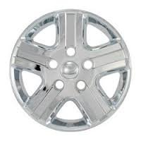 "Bully Imposter IMP-320X, Dodge, 17"" Chrome Replica Wheel Cover, (Set of 4)"