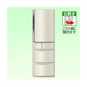 パナソニック 426L 5ドア冷蔵庫(シャンパン)Panasonic エコナビ NR-E438T-N
