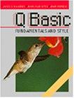 img - for QBasic Fundamentals and Style with an Introduction to Microsoft Visual Basic for Windows book / textbook / text book