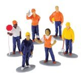 US Toy Construction Worker Toy Figures (1 Dozen)