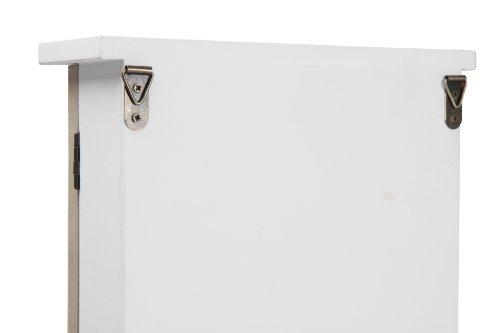 Wooden Key Cabinet With Glass Door