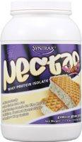 Syntrax Nectar Whey Protein Isolate Powder Vanilla Bean Torte -- 2.04 lbs (Quantity of 1)