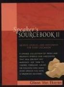 Speaker's Sourcebook II (Bk.2), Glen Van Ekeren