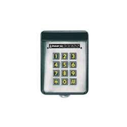 garage door parts linear akr 1 stand alone digital keypad with built in rad. Black Bedroom Furniture Sets. Home Design Ideas