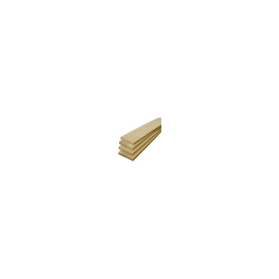 American Wood Moulding 1/4X2x2 Pop Hobby Board (Pack Of