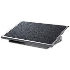 ** Adjustable Steel Footrest, Nonslip Surface, 22w x14d, Cha
