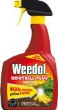 4 X Weedol Gun! Rootkill Plus 1 Litre Ready To Use Weedkiller from Scotts Miracle-Gro