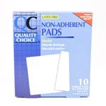QUALITY CHOICE NON ADHERENT PAD LF STERILE Pack of 10 by CDMA *** handbook of quality control tests for sterile products