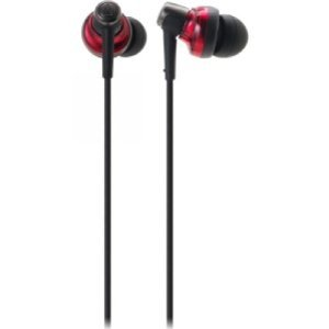 AUDIO TECHNICA IN EAR headset FOR SMARTPHONES W CONROLLER FOR PHONE CALL 0 - MUSIC/ATH-CKM300ISRD / [parallel import goods]