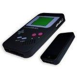 Rétro Nintendo Game Boy Étui Coque Souple En Silicone Pour Apple iPhone 4 et 4S. Qualité Supérieure Avec Style. Noir