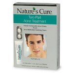 21TKhCMcSgL. SL160  Natures Cure Two Part Acne Treatment System for Males (1 Month Supply)
