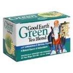 Good Earth Teas, Green Tea, Lemongrass, 25 Wrapped Tea Bags, 1.5 oz (42.5 g)