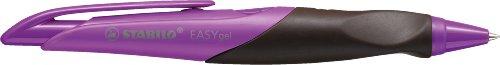 Stabilo EASYgel 5891/3-41 - Bolígrafo de tinta gel para zurdos, color violeta y marrón