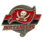 Metal Lapel Pin - National Football League Helmet & Logo Pins - Official NFL Team Logo Pins - Tampa Bay Buccaneers Logo at Amazon.com