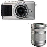 Olympus E-P3 Pen Digital Camera, Silver,  M.