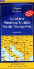 Polyglott Reisekarten, Adriak�ste, Sl...