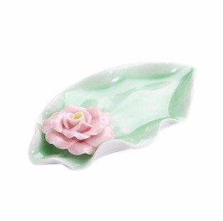 Quemadordeinciensorecipientesoporte Hoja Rosa flor