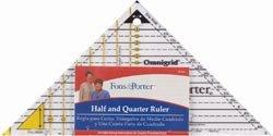 Dritz Fons & Porter Half & Quarter Ruler R7843; 2 Items/Order