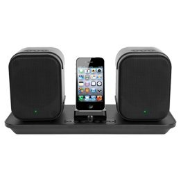 Wireless Speaker System For Apple Ipod And Iphone - Black - Ilive