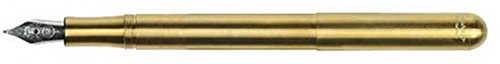 KAWECO Liliput Brass Fountain Pen F - Fine Nib new fountain pen fine print rex young f [black] axis fnyr300rb japan import