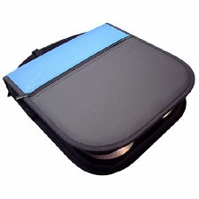 Compucessory CD/DVD Wallet, Sleeves Incl, 11-1/2