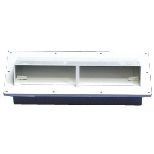 MOTORHOME TRAILER AND RV VENTLINE RANGE HOOD WEATHERPROOF VENT (POLAR WHITE)