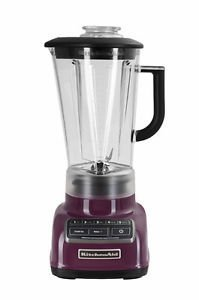 Kitchenaid Diecast 5-speed Blender Ksb1575by Diamond Vortex Blade Boysenberry Good Gift Free Shipping Fast Shipping Ship Worldwide