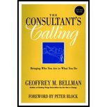 img - for Consultant's Calling - Bringing Who You Are to What You Do, New & Revised Edition (REV 02) by Bellman, Geoffrey M - Bellamn, Geoffrey [Paperback (2001)] book / textbook / text book