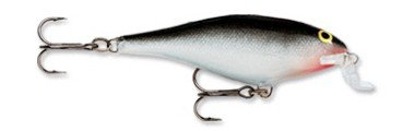 Today Sale Rapala Shallow Shad Rap 09 Fishing lure, 3.5-Inch, Silver