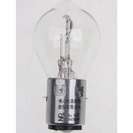 Set Of Three Round Style 12V 35/35W Chinese Scooter Light Bulb 50Cc 150Cc 250Cc