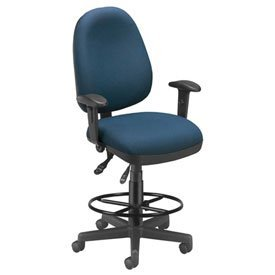 OFM 122-DK-804 Computer Task Chair with Drafting Kit