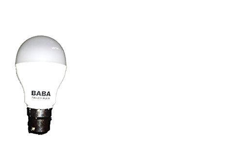 Baba-7W-B22-LED-Bulb-(White)
