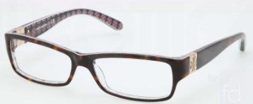 Tory BurchTORY BURCH TY 2024 Eyeglasses 1043 Tort Demo Lens 51-15-135