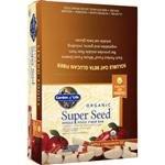 Organic Super Seed Whole Food Fiber Bar Apple Cinnamon 12 bars