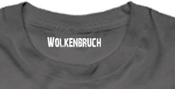 Wolkenbruch® T-Shirt Black Darkness Motorcycle Lucky Seven, Gr.S bis 5XL