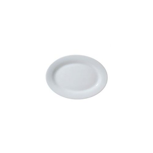 Cheap Vertex Market Buffet Collection White 18 In. Rolled Edge Platter (ARG-29)