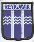 Reykjavik Iceland Flag Embroidered Patch Badge